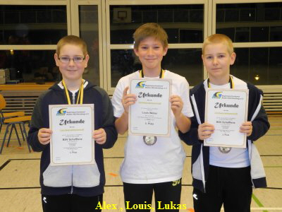 Alex , Louis, Lukas